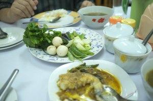 Danu Phyu Daw Saw Yee Myanma:  Fresh Vegetables with every meal
