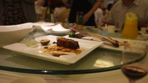 The beef rib was one of the better dishes